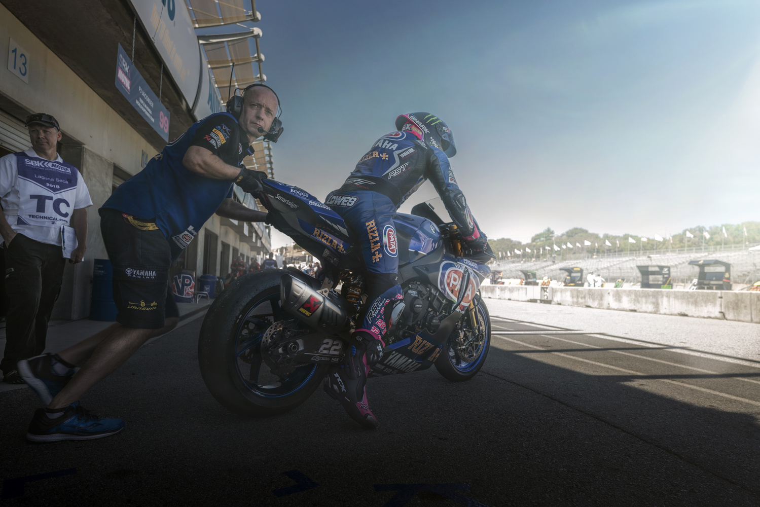 Alex Lowes Pata Yamaha World SBK by Zachary Bolena