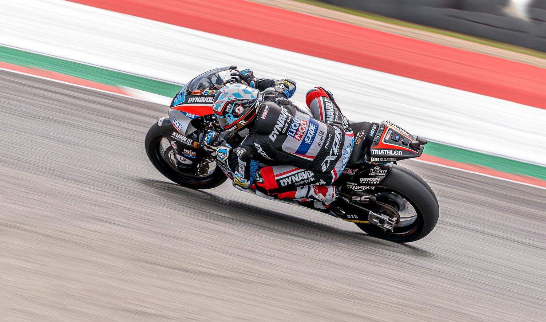 Marcel Schrötter IntactGP Moto2 MotoGP 2019 by Zachary Bolena
