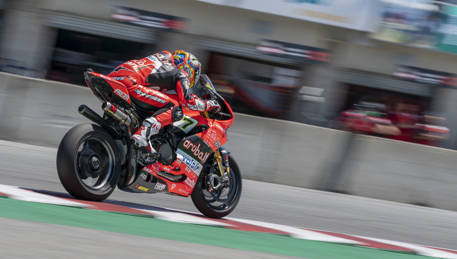 Chaz Davies Aruba.IT Ducati World Superbike by Zachary Bolena