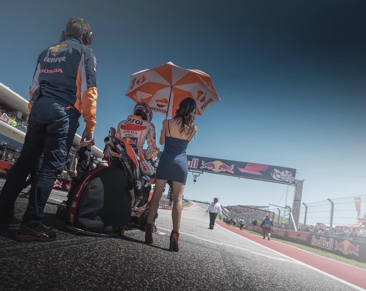 Marc Marquez Repsol Honda by Zachary Bolena