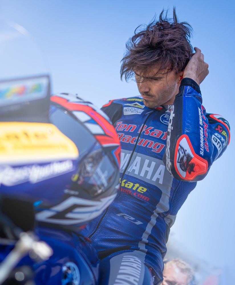 Loris Baz TenKate Yamaha Racing World SBK by Zachary Bolena