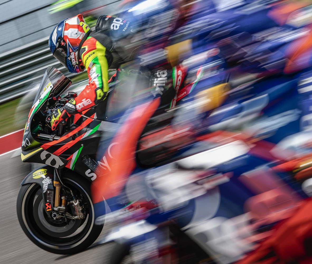 Andrea Iannone Aprilia Factory MotoGP by Zachary Bolena