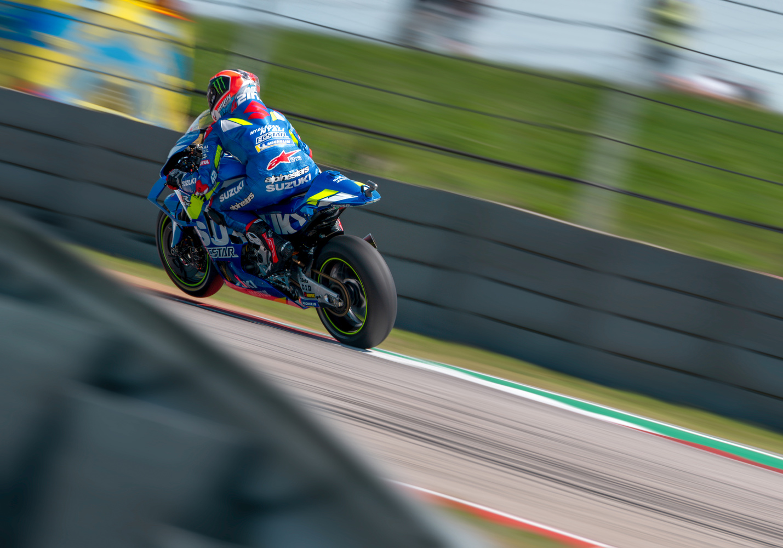 Alex Rins Factory Suzuki MotoGP by Zachary Bolena