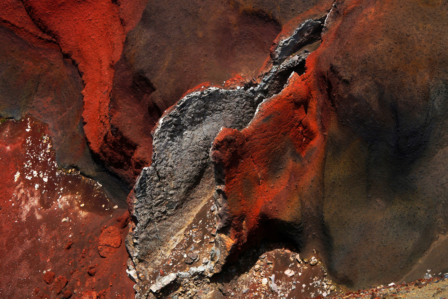 Red Crater by Wojciech Grencer