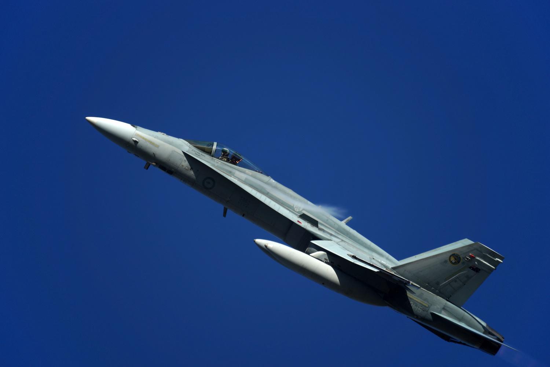 F/A-F18F Super Hornet by Wojciech Grencer