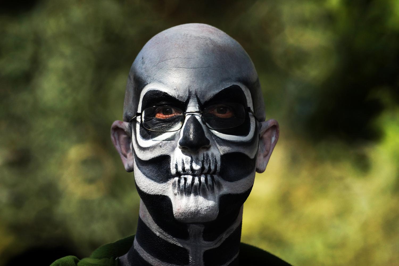 Zombie portrait by Wojciech Grencer