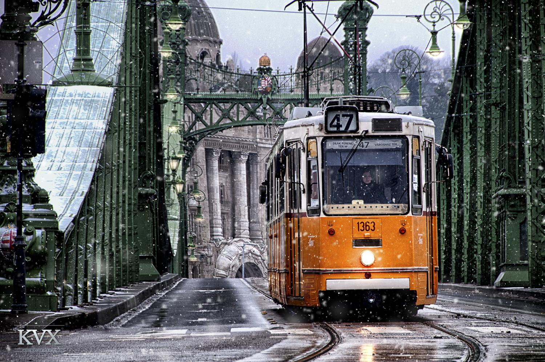 Budapest Blizzard by Gellert Kovacs
