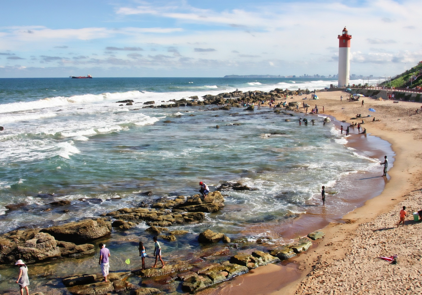 Umhlanga Beach by Gavin Plessis