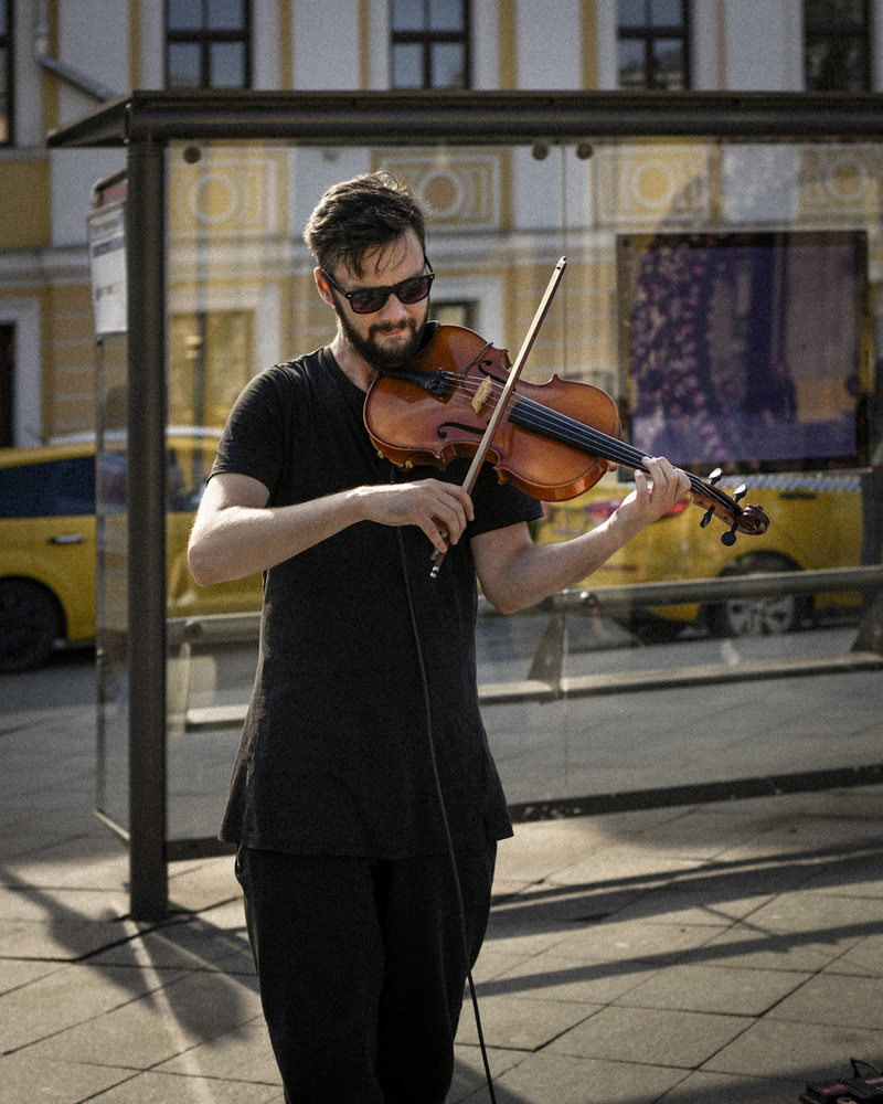 Street musin'. 2018. by Alex Yakimov
