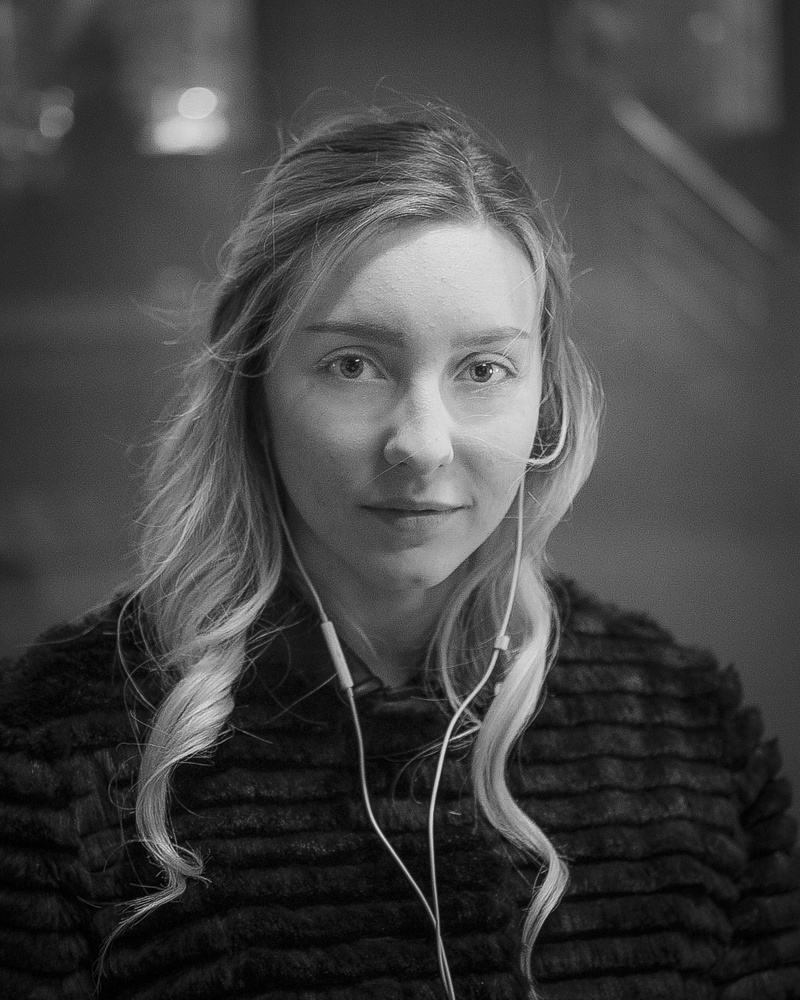 Julia at the station. 2019 by Alex Yakimov