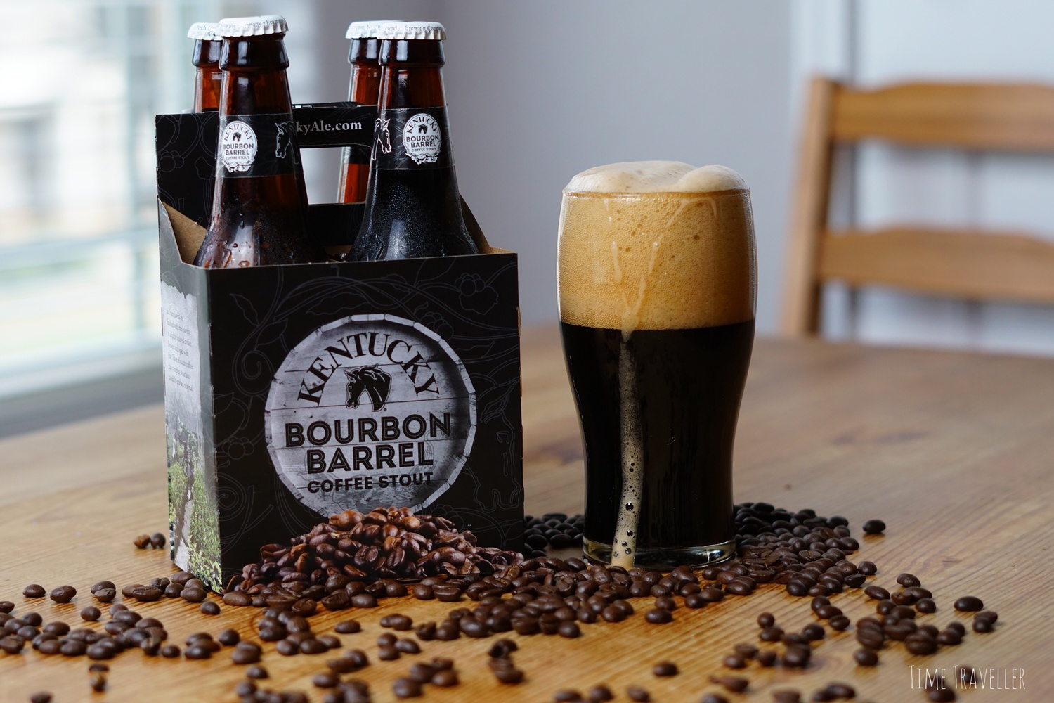 Kentucky Bourbon Barrel Coffee Stout Beer by Dereck Smith