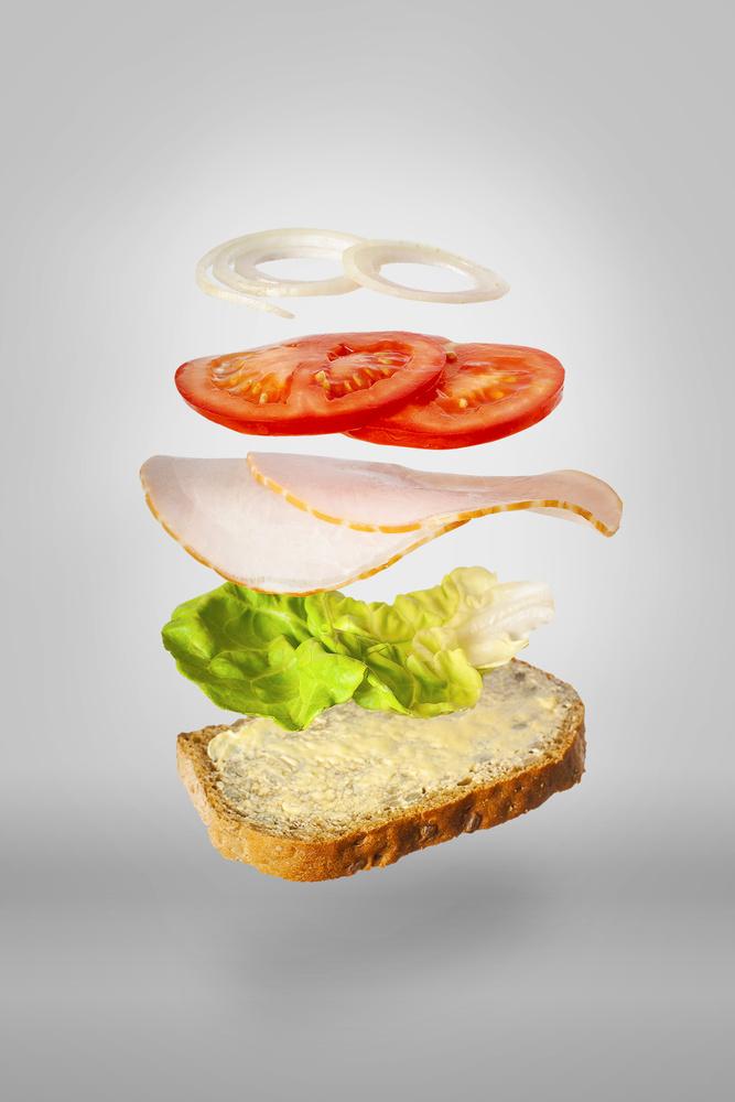 Polish style sandwich by Janusz Slyk