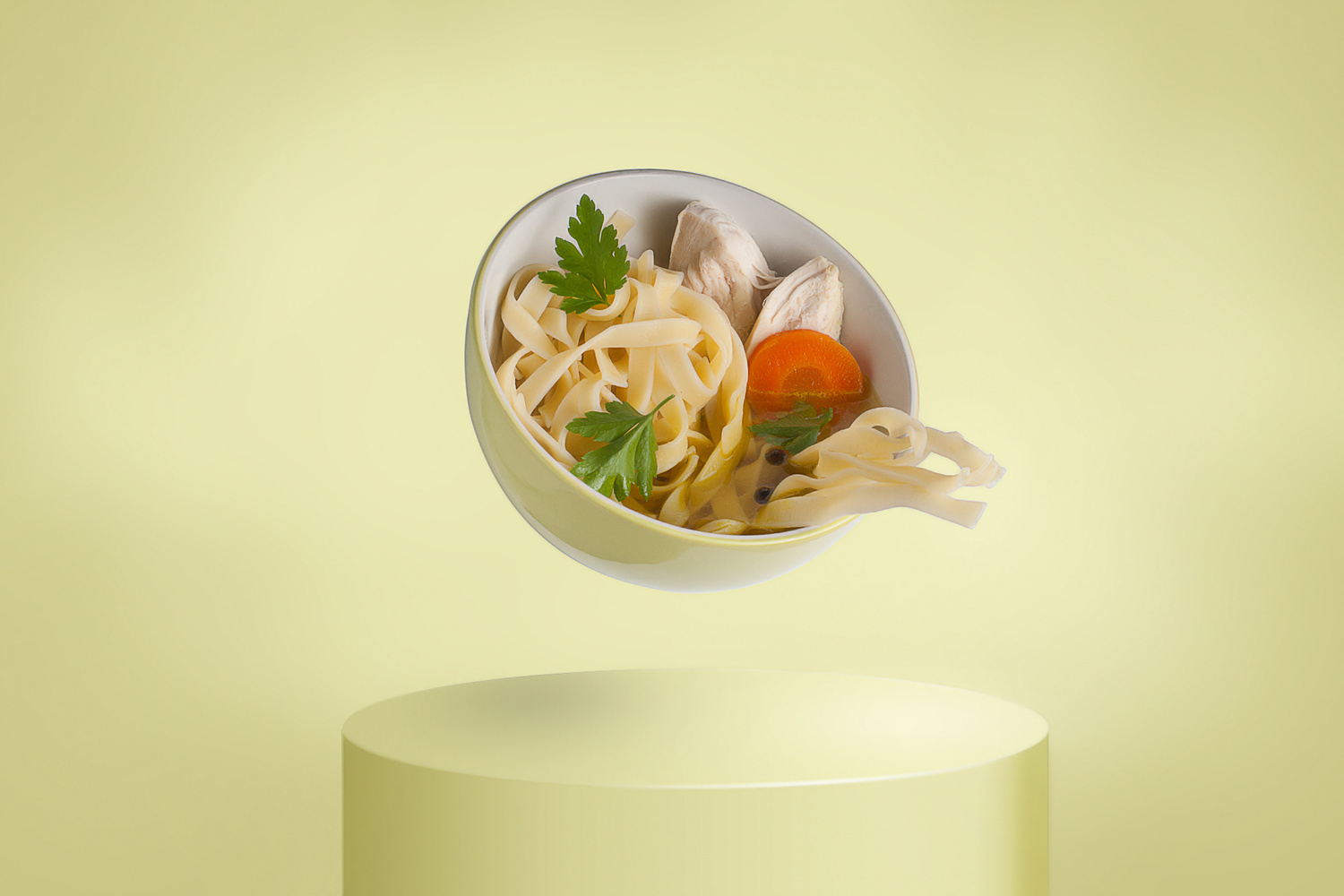 The chicken soup. by Janusz Slyk