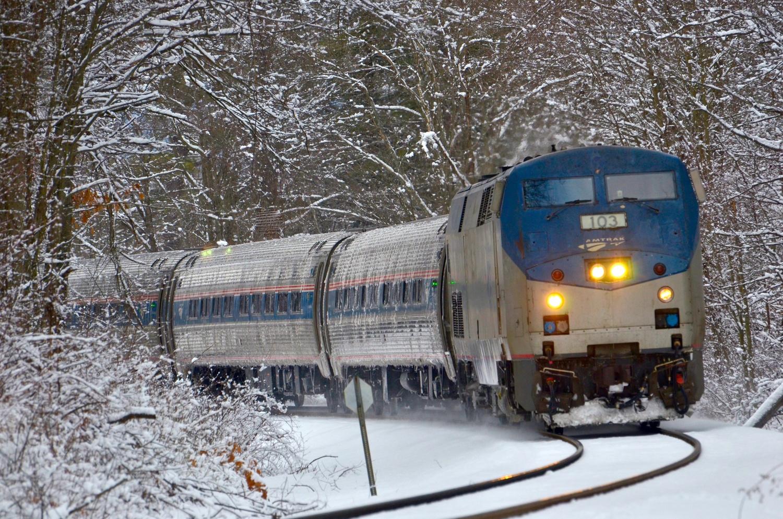 Snow Train by John Taylor