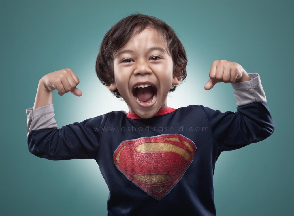 Little Superman by Ashadi Rashid
