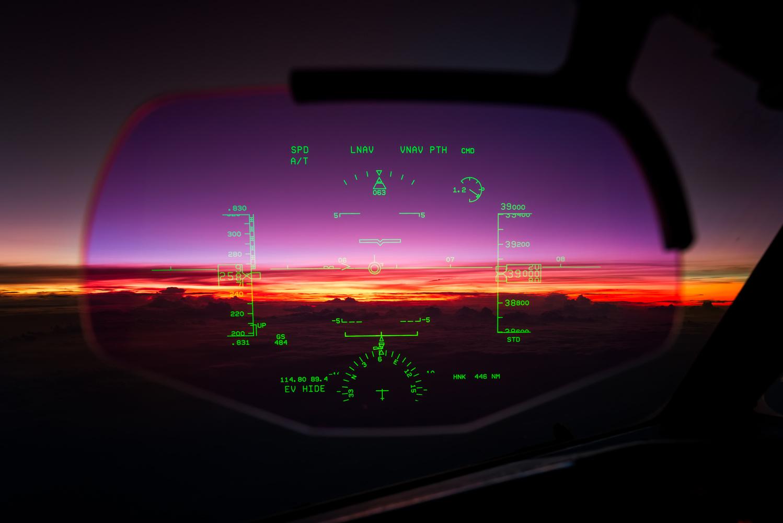 Sunrise through the HUD  by Angelo Bufalino