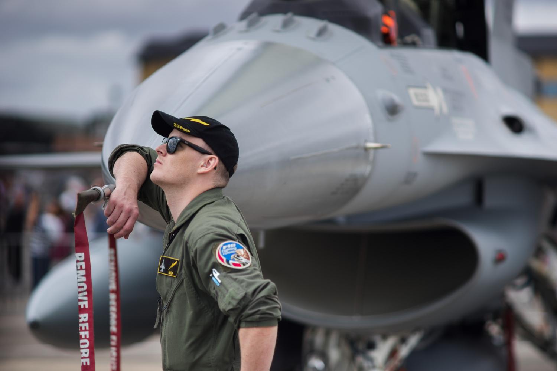 F-16 Pilot by Edward Noble