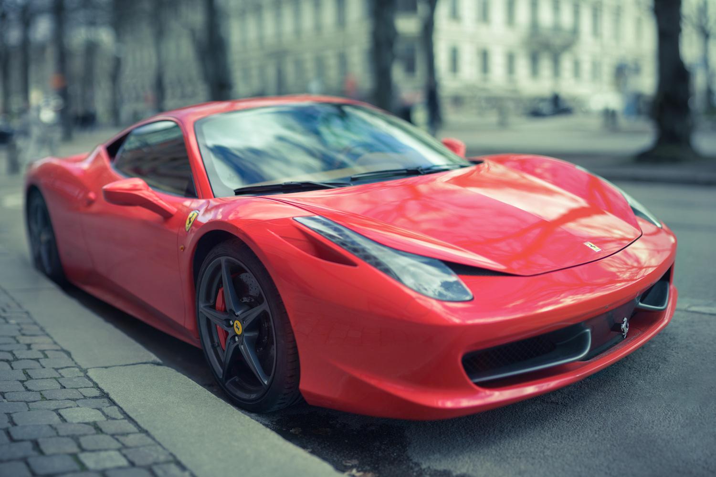 Ferrari  by Edward Noble