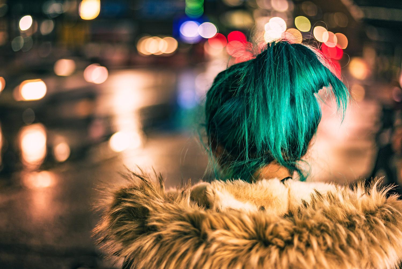 Green Hair by Dirk Jutzas