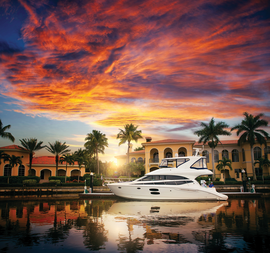 Yacht in Fort Myers by Mike Calabro