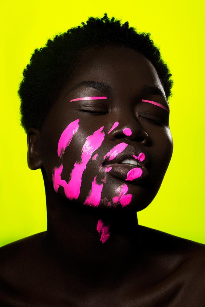 Neon Slumber by Keara Suckra