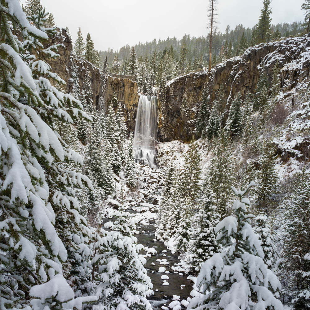 Tumalo Falls by TYLER YATES