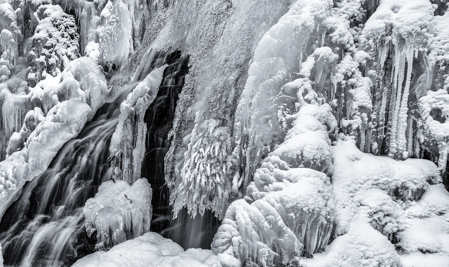 Ice Abstract 1B by TYLER YATES