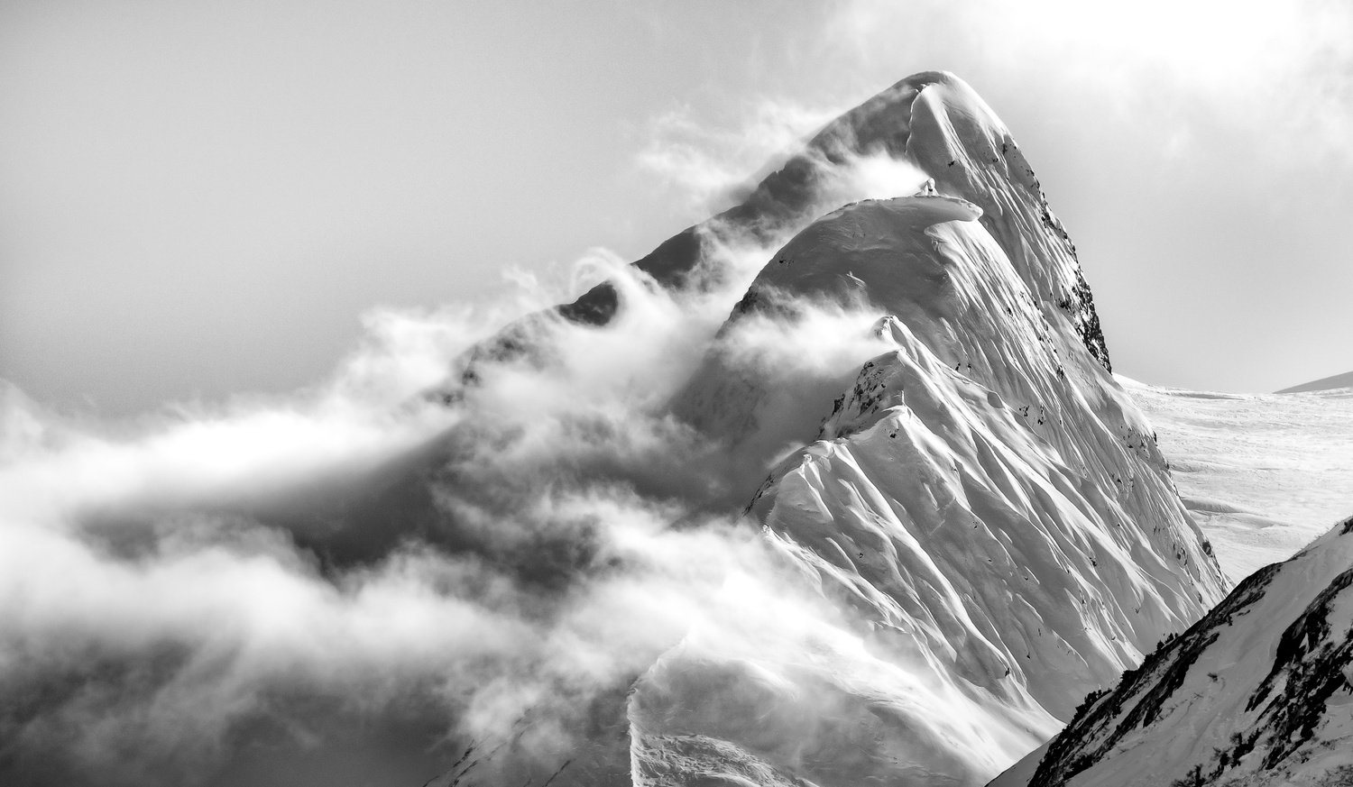 The Mountain in the Clouds  by TYLER YATES