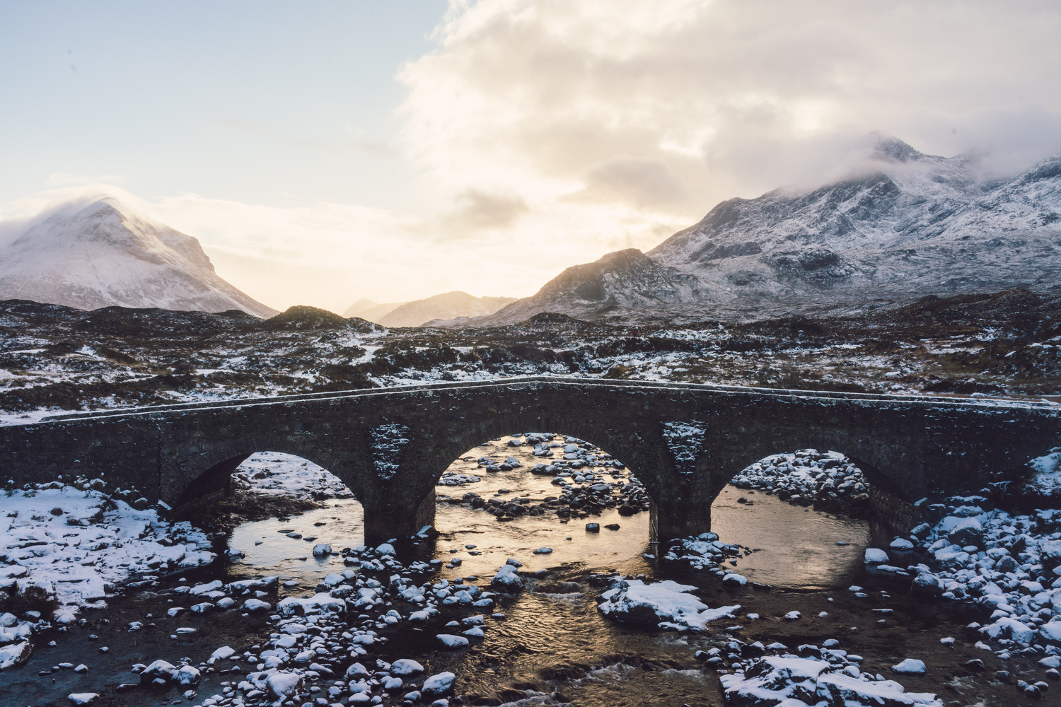 Old Sligachan Bridge by TYLER YATES