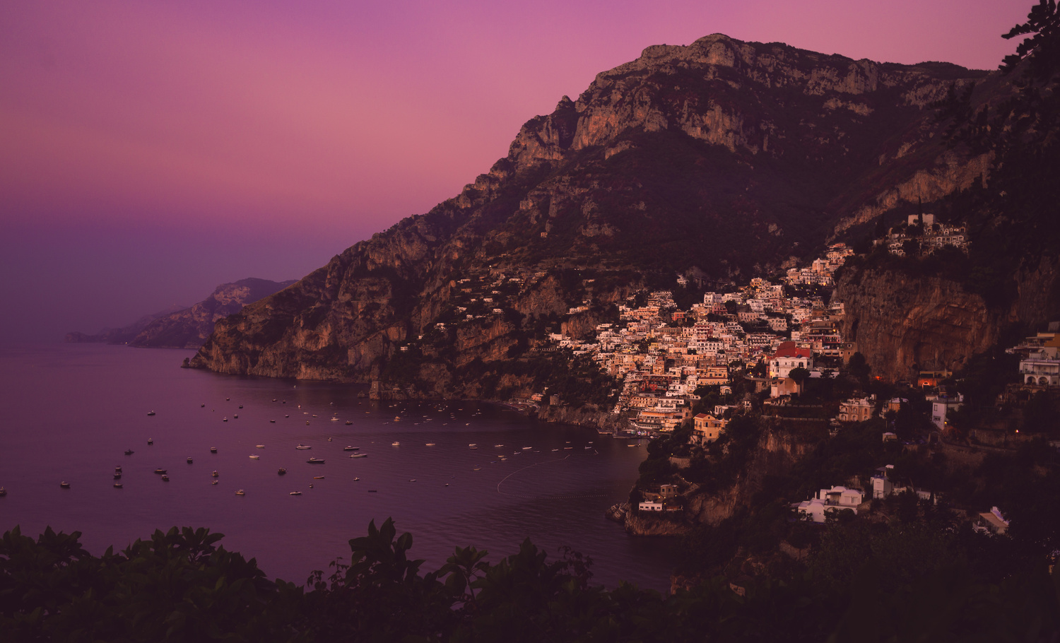 Positano Dawn by TYLER YATES