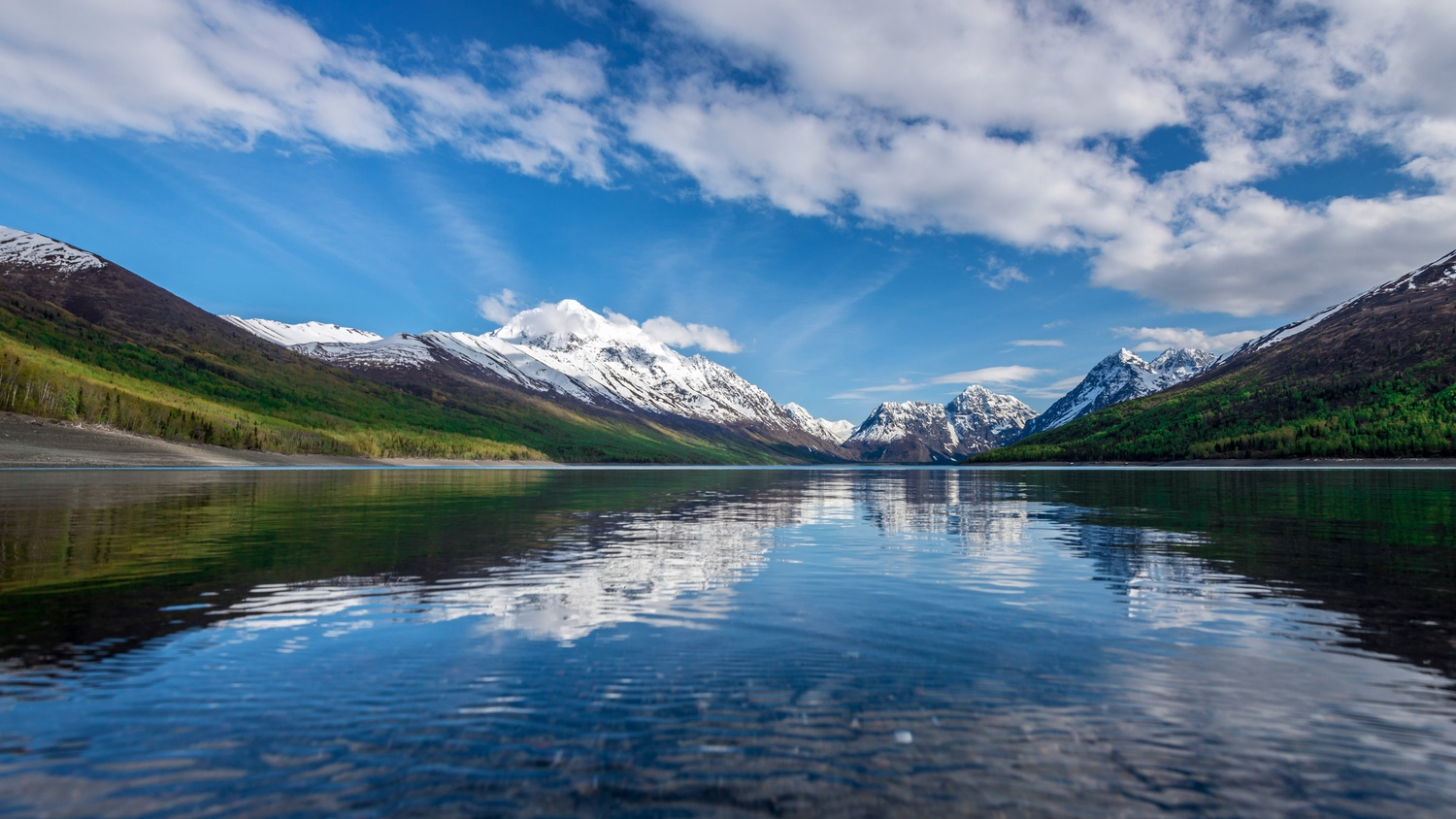 Eklutna Lake by TYLER YATES