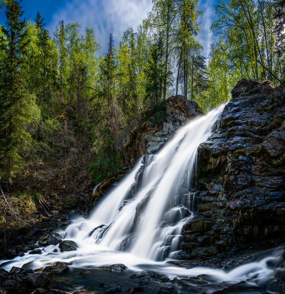 Springtime at Barbra Falls by TYLER YATES