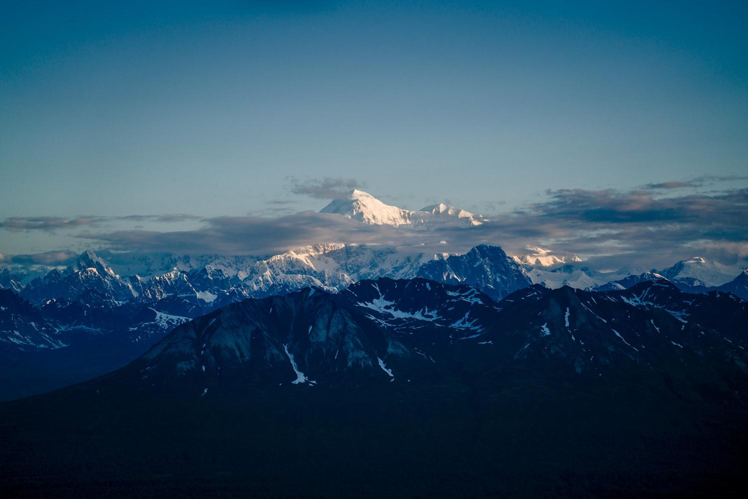 Denali at Dawn by TYLER YATES