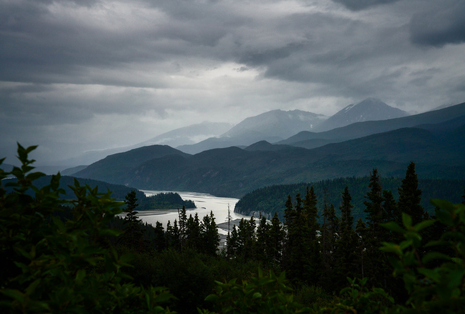 Rainy Days on the Chitina by TYLER YATES