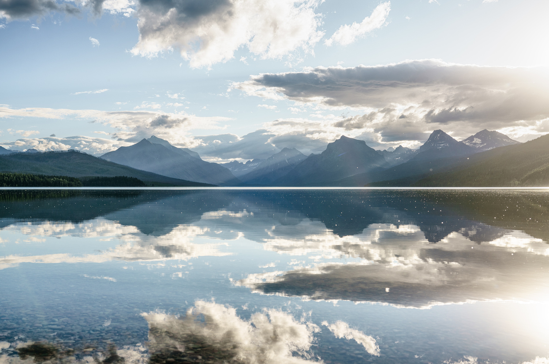 Lake McDonald Sunrise by TYLER YATES