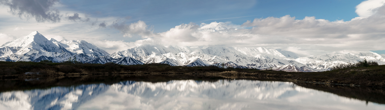 Denali Reflections by TYLER YATES