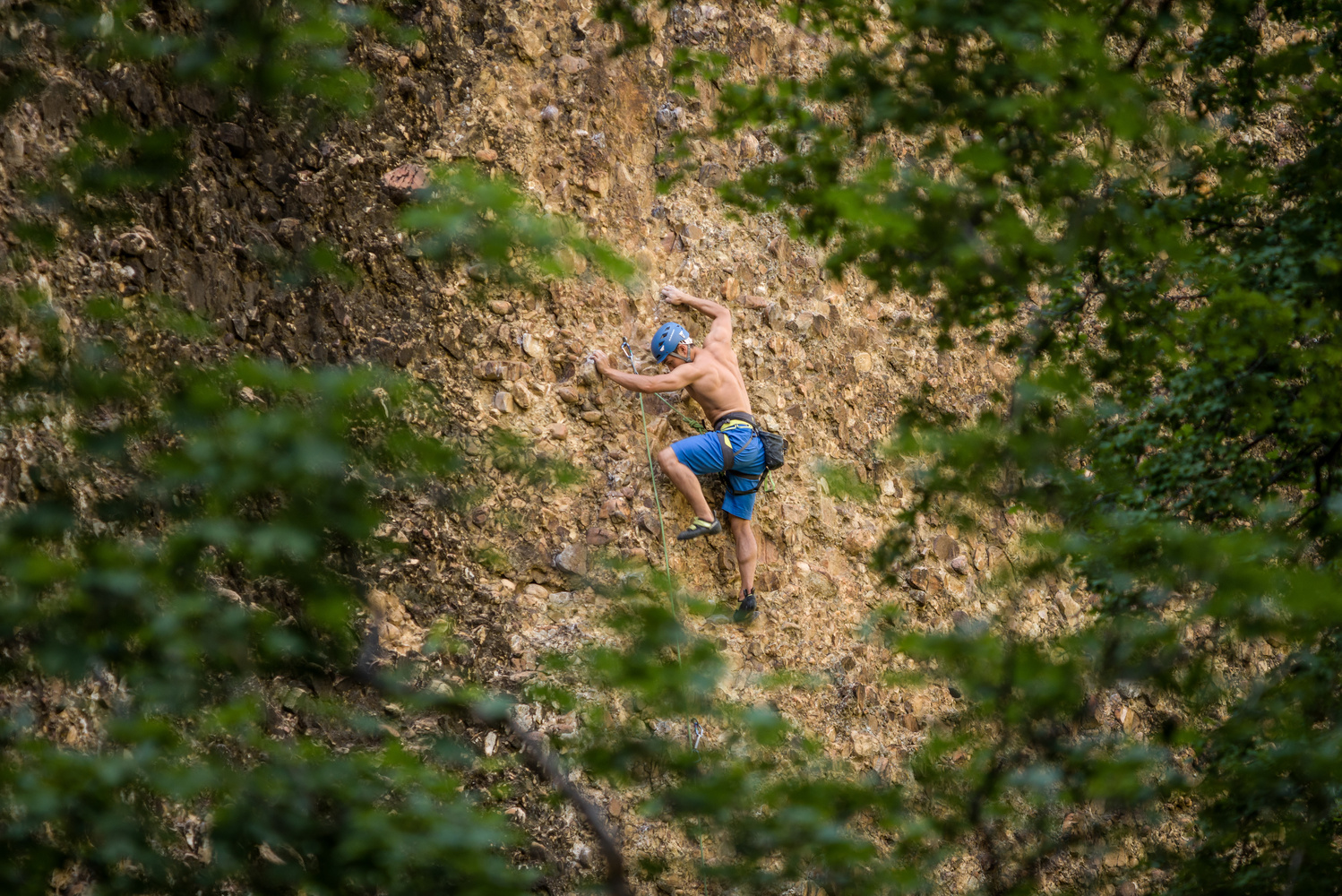 Climbing in American Fork by TYLER YATES