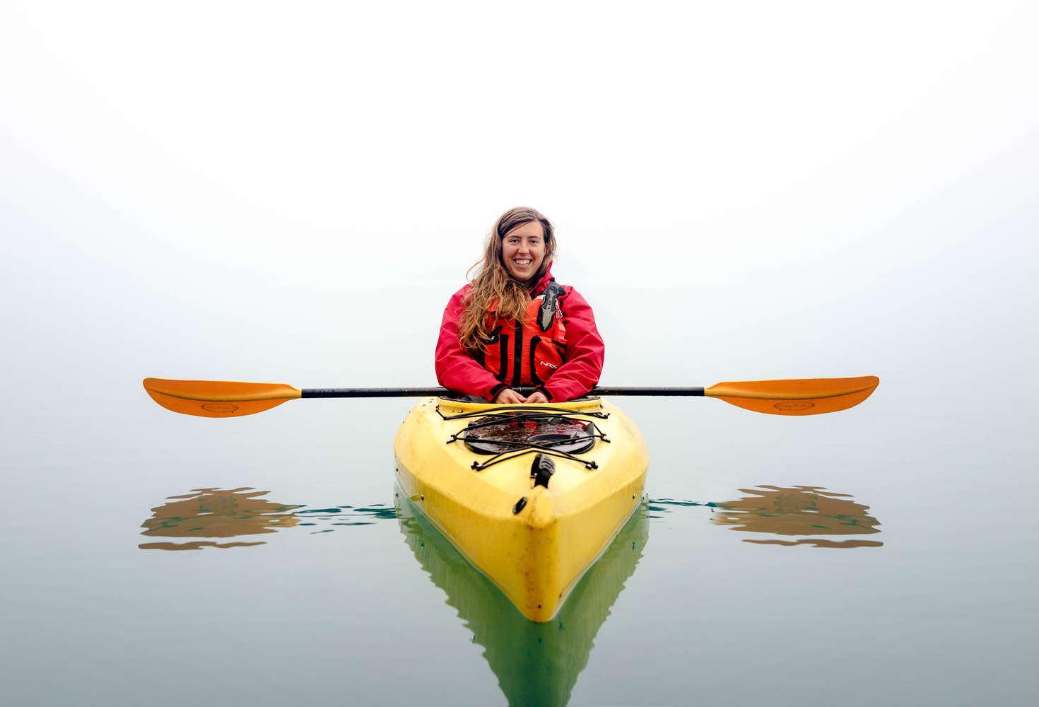 Kayaking in the Fog by TYLER YATES