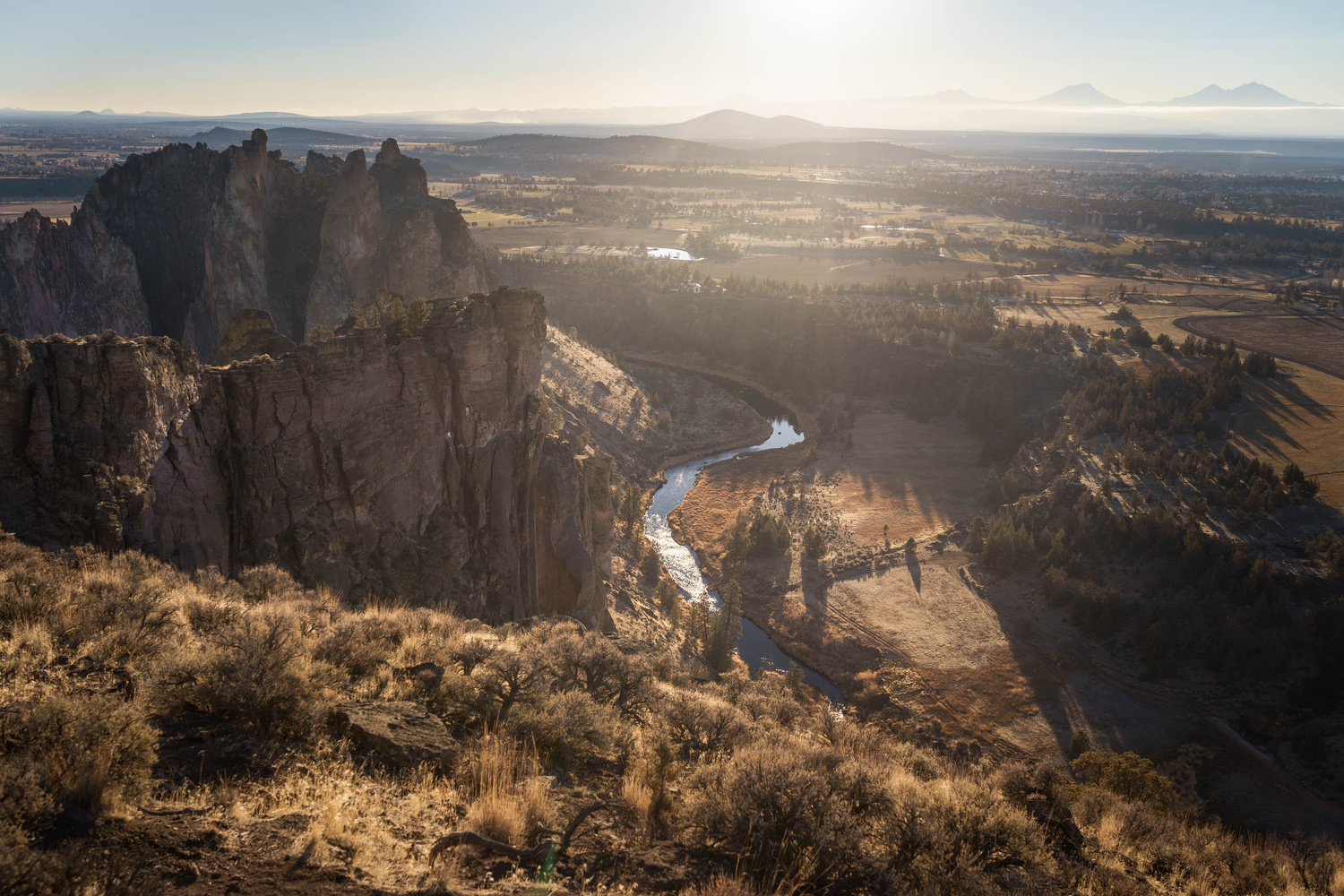 Smith Rock and Crooked River by TYLER YATES