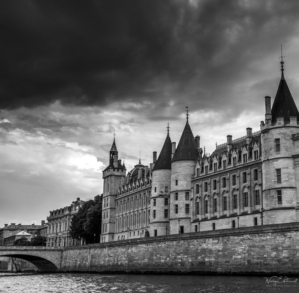 Paris River by Wesley Perrault