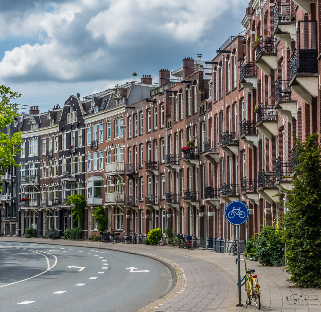 Amsterdam Bike by Wesley Perrault