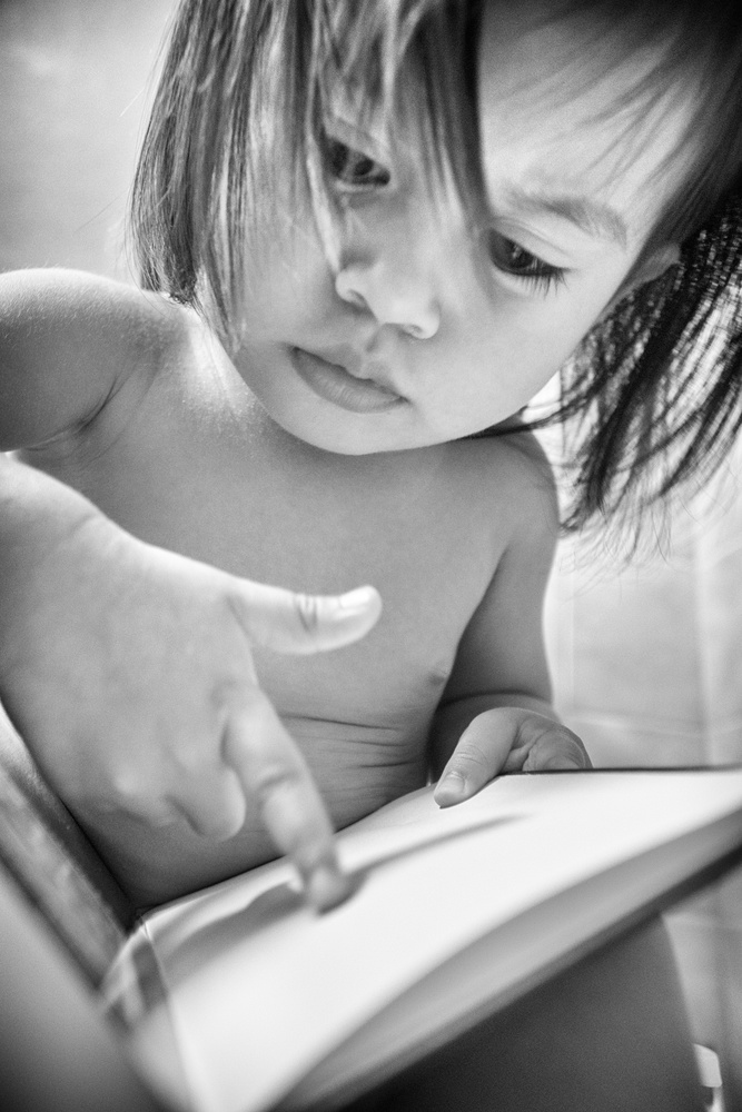 Young reader by Hannier Pulido