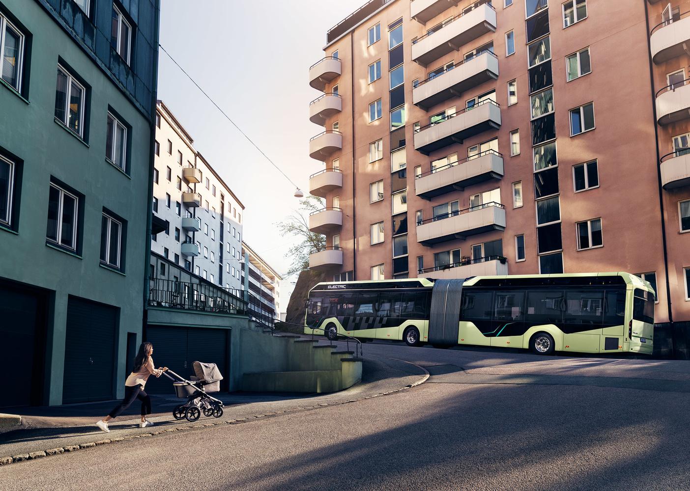 Volvo Bus by Johan Westerlind