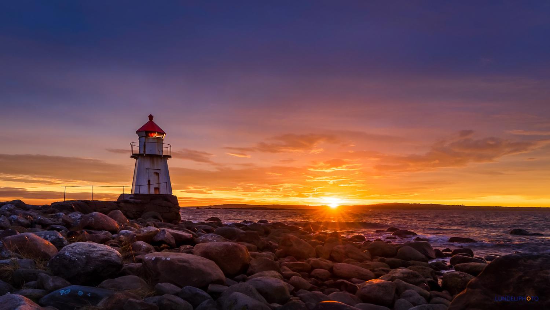 The Lighthouse by Hans Jørgen Lindeløff