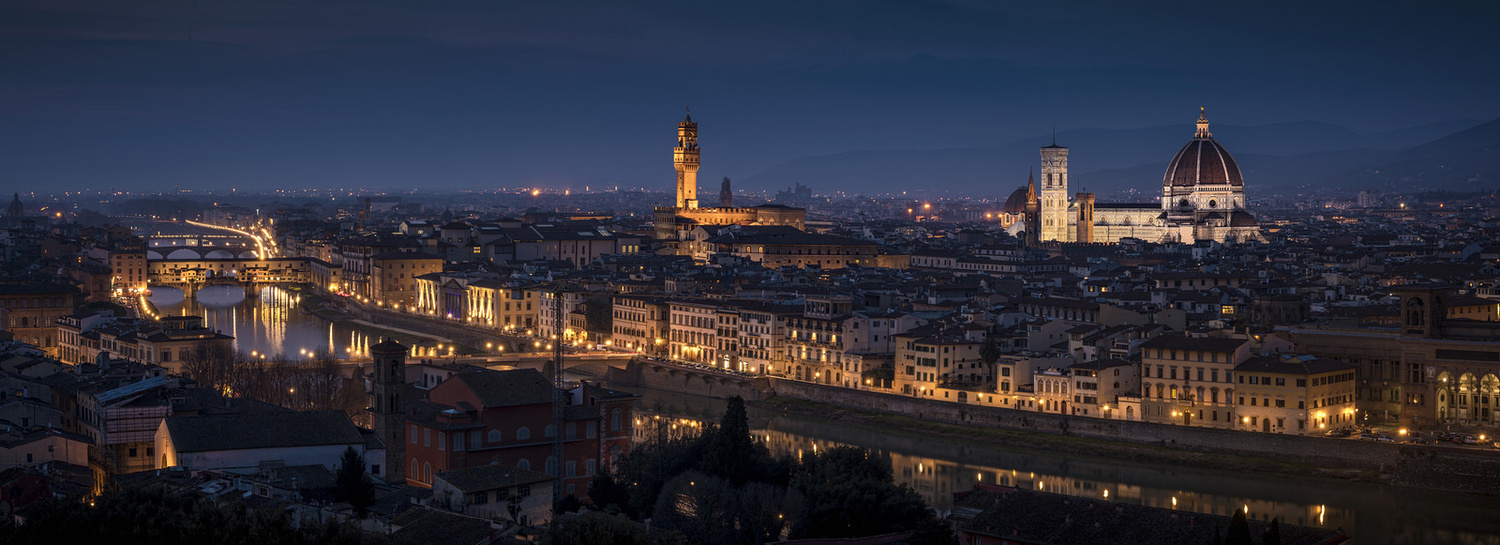 Florence by night by denis lomme