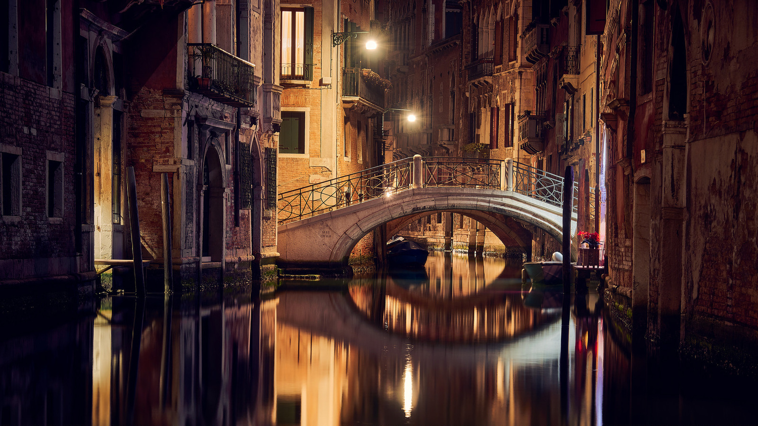 Night Bridge by denis lomme