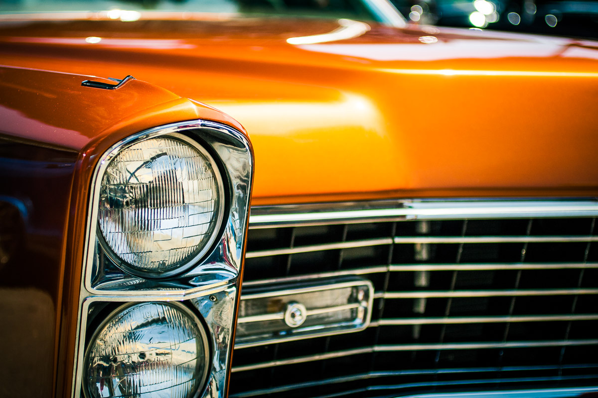 Orange Lincoln by Dan Williams