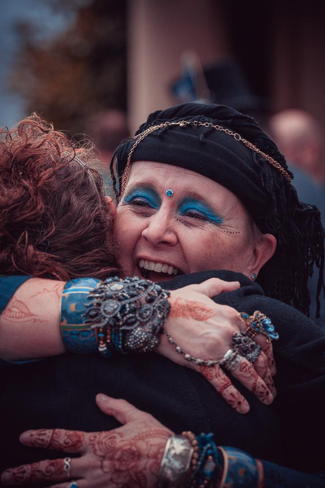 Joyous Hug by Dan Williams