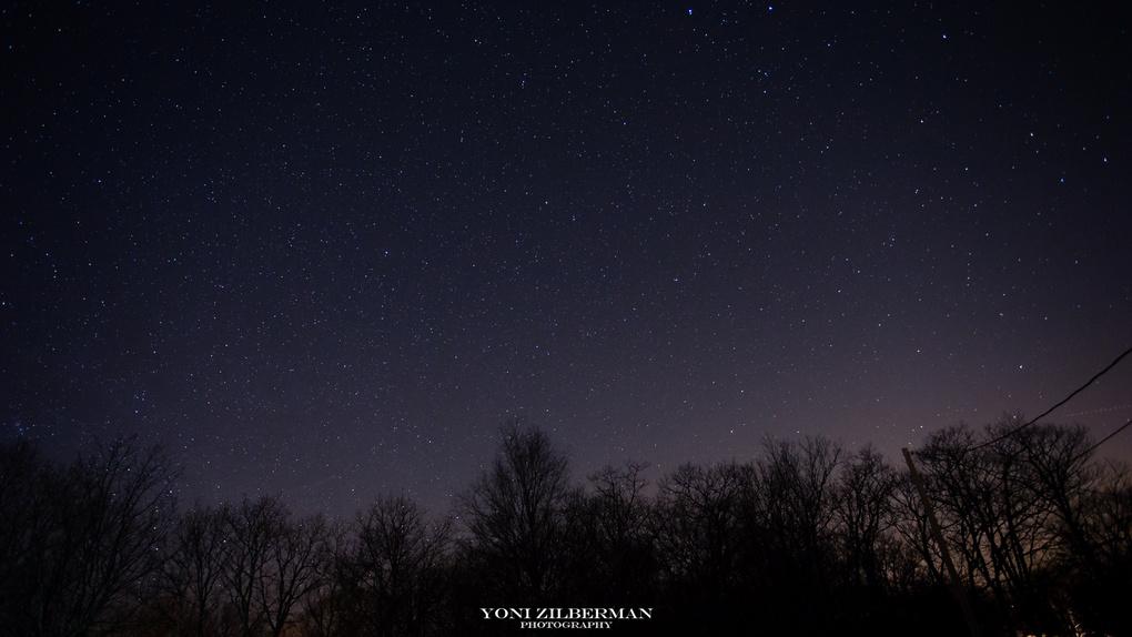 Pocono's Stars by Yoni Zilberman