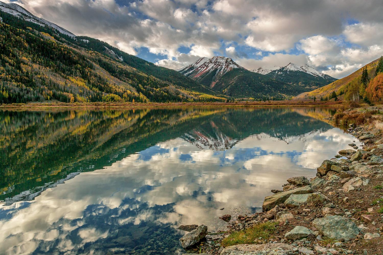 Crystal Lake, San Juan range, CO by Wade Shanley